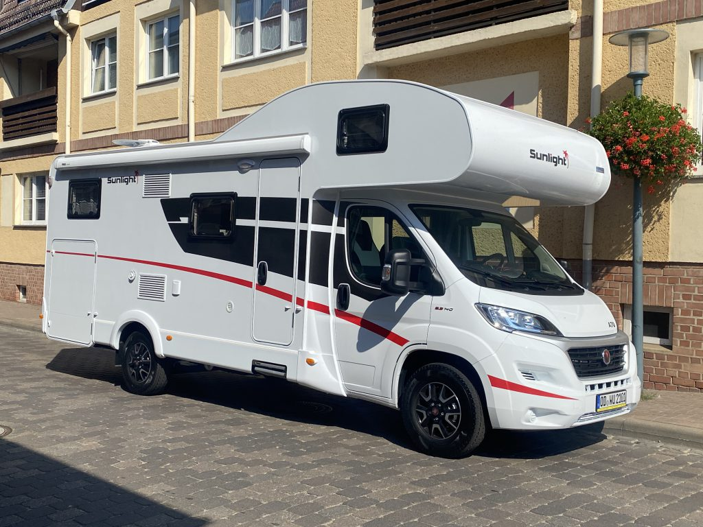 Wohnmobil Sunlight A70 Wohnmobile Unger